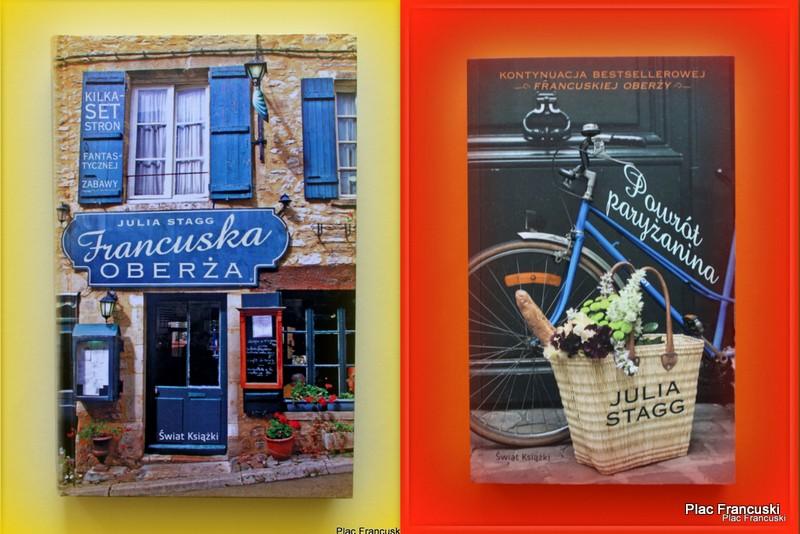 Powrót Paryżanina, Francuska Oberża, Julia Stagg w księgarnia Plac Francuski