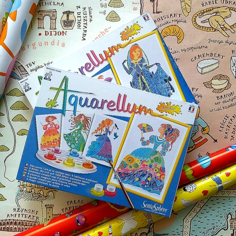 kreatywny prezent dla dziecka, sentosphere aquarellum Plac Francuski