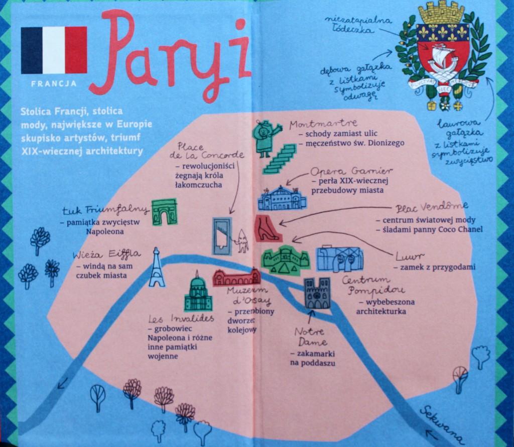 księgarnia Plac Francuski- Paryż dla najmłodszych podróżników