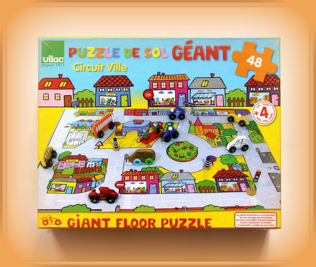 PLAC FRANCUSKI puzzle podłogowe ulica