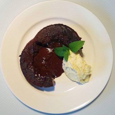 Moelleux au chocolat blog Plac Francuski