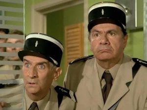 Seria o żandarmie - francuskie komedie.
